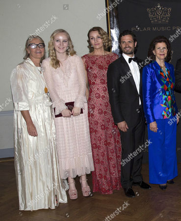 Marie Ledin, Prince Carl Philip, Queen Silvia