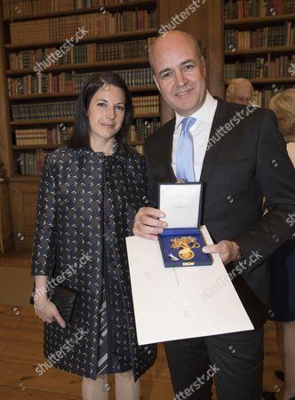 Fredrik Reinfeldt and Roberta Alenius