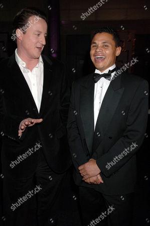 David Cameron and John Salako