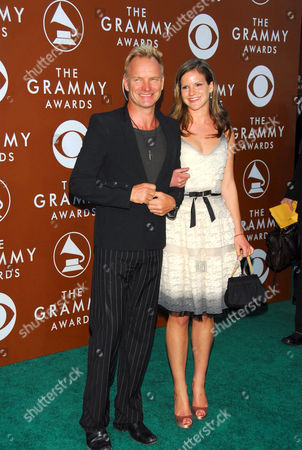 Sting and Katie Sumner