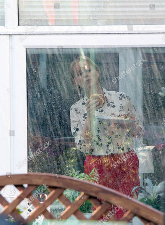While Yasmeen Nazir, Shelley King, chivvies Sharif Nazir, MARC ANWAR, in the kitchen. As the heavens open, despondent Yasmeen ushers her guests inside while smug Sally Metcalfe, Sally Dynevor, waves to her from the comfort of her conservatory. Yasmeen fumes