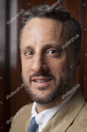 Stock Picture of The author Adam Foulds photographed at The Cinnamon Club in London
