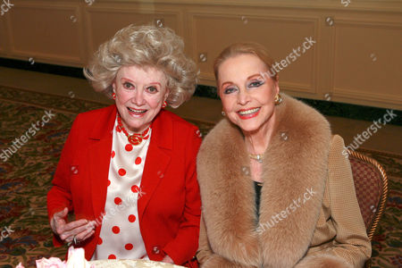 Phyllis Diller and Ann Jeffreys