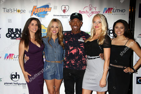 Alison Waite, Jessica Hall, Montel Williams, Stacy Fuson, Pilar Lastra