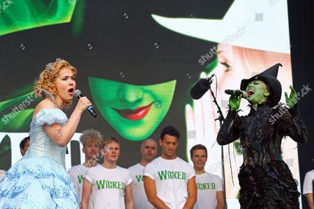 Editorial image of West End Live, Trafalgar Square, London, UK - 18 Jun 2016