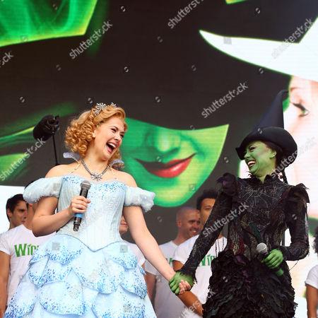Editorial photo of West End Live, Trafalgar Square, London, UK - 18 Jun 2016