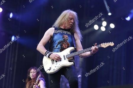 Editorial photo of Iron Maiden in concert, Gothenburg, Sweden - 17 Jun 2016