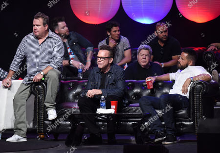 Eric Stonestreet, David Cook, Tom Arnold, James Marsden, George Wendt, Ian Gomez and Josh Hopkins