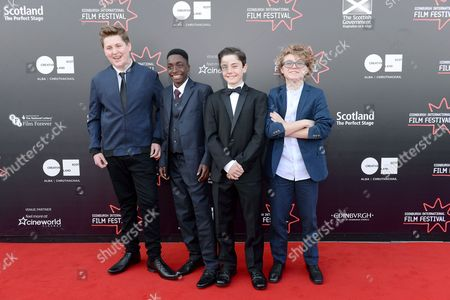 Editorial picture of 'The White King' premiere, Edinburgh International Film Festival, Scotland, UK - 18 Jun 2016