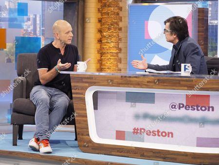 Stock Picture of Steve Hilton and Robert Peston