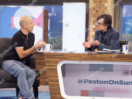 Steve Hilton and Robert Peston