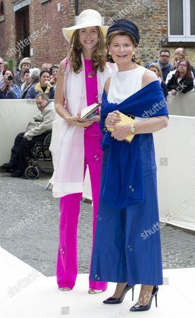 Priness Margaretha van Luxemburg and Princess Maria Astrid von Liechtenstein