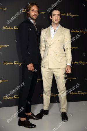 Editorial photo of Salvatore Ferragamo, Milano Moda Uomo Men's Fashion Week, Spring Summer 2017, Milan, Italy - 19 Jun 2016