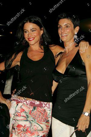 Sofia Vergara and Ingrid Casares