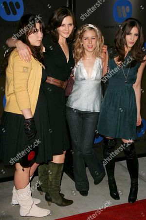 The Donnas - Donna F ( Maya Ford), Donna R (Allison Robertson), Donna C (Torry Castellano) and Donna A (Brett Anderson)