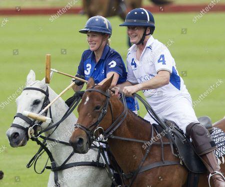 Zara Tindall and Richard Dunwoody