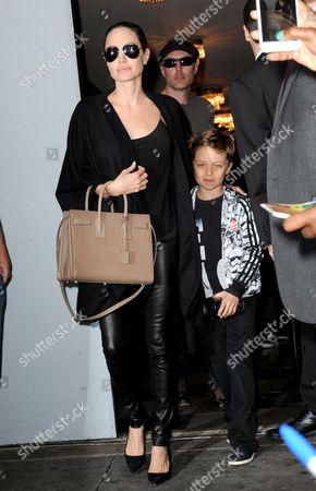 Angelina Jolie, Knox Leon Jolie-Pitt, James Haven