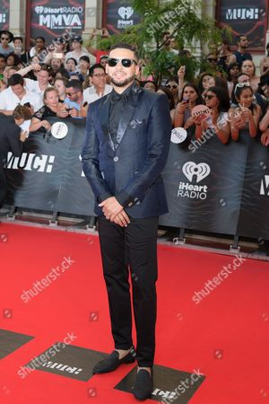 Editorial picture of iHeartRadio Much Music Video Awards, Arrivals, Toronto, Canada - 19 Jun 2016