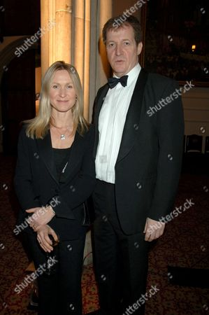 Fiona Miller and Alastair Campbell