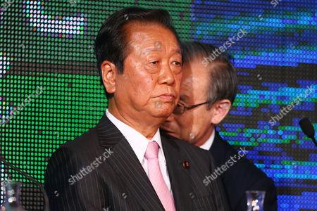 People's Life Party coleader, Ichiro Ozawa