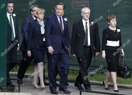 George Osborne, David Cameron, Jeremy Corbyn and Baroness Stowell
