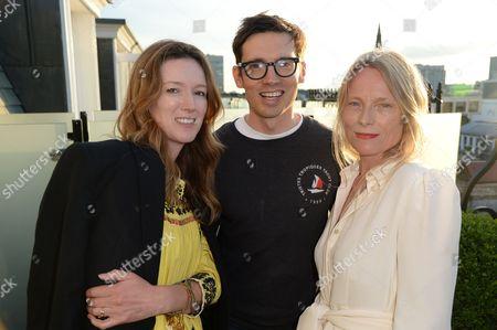 Claire Waight Keller, Erdem Moralioglu and Luella Bartley