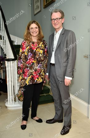 Martina Mondadori Sartogo and Ashley Hicks