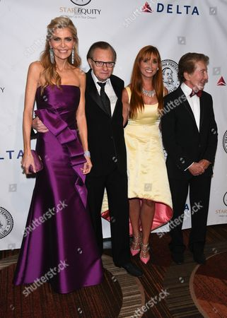 Stock Picture of Shawn Southwick, Larry King, Nancy Elaine Gresham, Al Malnik