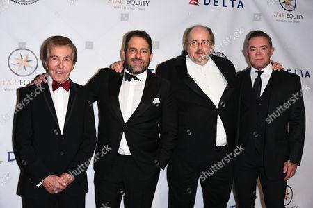 Al Malnik, Brett Ratner, James Tobak and Shareef Malnik
