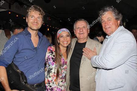 Thorsten Schütte, Moon Unit Zappa, Chuck Ash and Tom Bernard