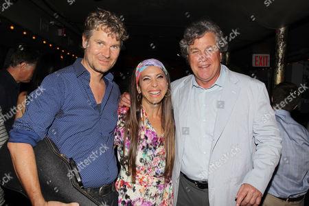 Thorsten Schütte, Moon Unit Zappa and Tom Bernard