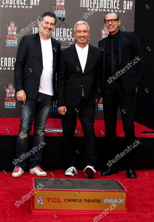 Harald Kloser, Roland Emmerich, Jeff Goldblum