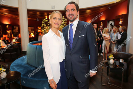 Prince Nikolaos of Griechenland, wife Princess Tatiana