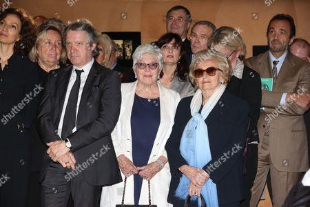 Thierry Rey, Line Renaud, Bernadette Chirac