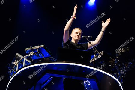 Disclosure performing on the Other Stage.  Guy Lawrence