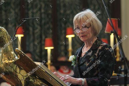 Glenys Kinnock of Holyhead reads Brave Woman by Zeki Majed.