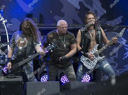 Fitty Weinhold, Udo Dirkschneider and Andrey Smirnov on the Dirkschneider