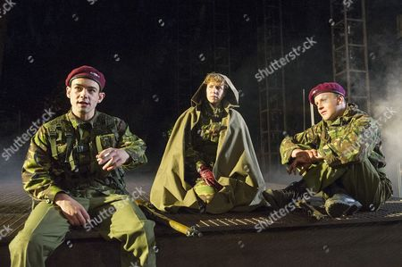 Jack McMullan as Williams, Michelle Terry as King Henry V, Bobby Delaney as Bates