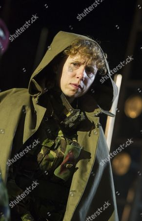 Stock Photo of Michelle Terry as King Henry V