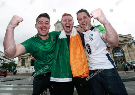 Shane Donnelly, Barry Nelson and Sean McGarry from Co. Down