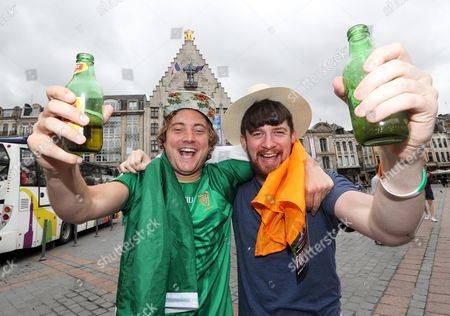 Patrick Holden and Alan Benson from Dun Laoghaire, Dublin and Roscommon