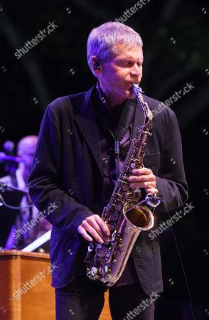 Stock Image of David Sanborn