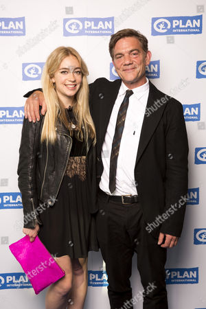 Stock Photo of John Michie and his daughter Daisy