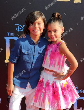 Malachi Barton and Ariana Greenblatt