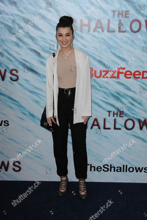 Editorial image of 'The Shallows' film premiere, New York, USA - 21 Jun 2016