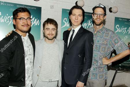 Daniel Kwan (Co-Director), Daniel Radcliffe, Paul Dano, Daniel Scheinert (Co-Director)