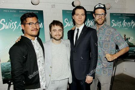 Daniel Kwan (Co-Director), Daniel Radcliffe, Paul Dano, Daniel S