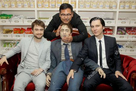 "Daniel Radcliffe, ""Swiss Army Man"" Dummy, Daniel Kwan (Co-Director), Paul Dano"