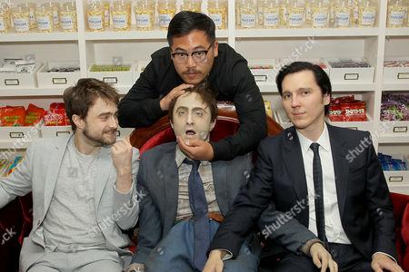 "Daniel Radcliffe, ""Swiss Army Man"" Dummy, Daniel Kwan (Co-Director)"