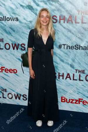 Editorial picture of 'The Shallows' film premiere, New York, USA - 21 Jun 2016